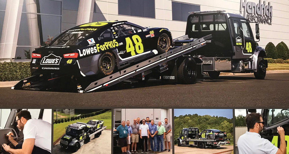 JIMMIE JOHNSON WITH CAR -
