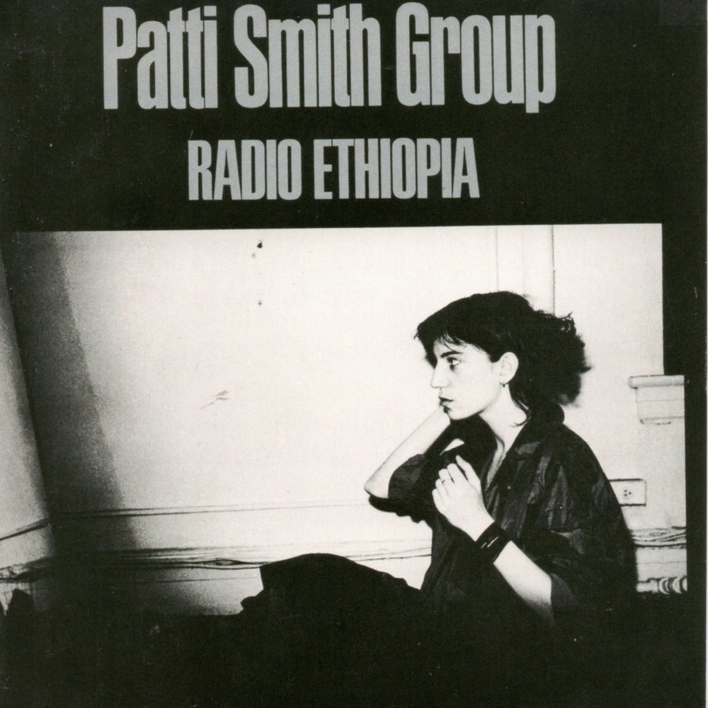 From the Record Crate: Patti Smith Group - 'Radio Ethiopia'  - In a rare series of candid interviews in 1971, the young and — at the time, virtually unknown — New York rock-poet Patti Smith discussed her bittersweet love affair with the Big Apple and....Read more.