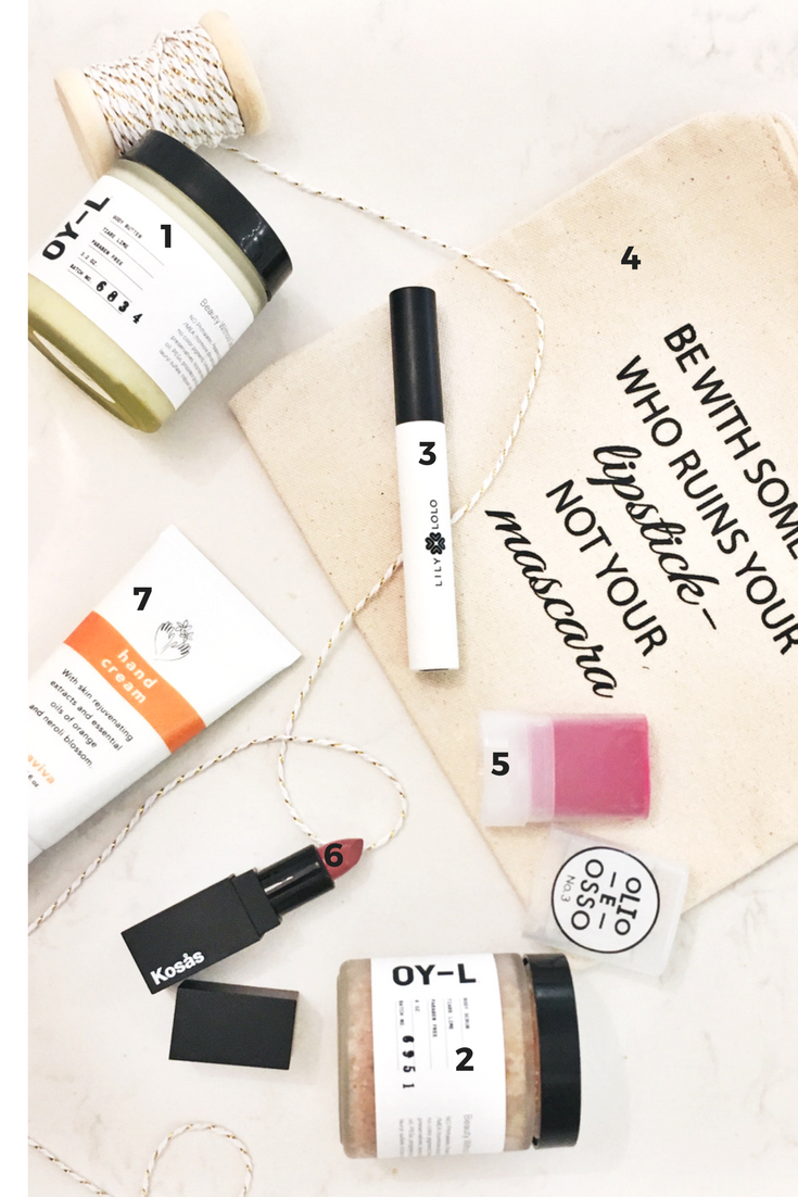 Clean Beauty Holiday gifts 30 dollars and under