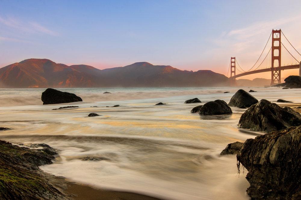 Mannys Creations San Francisco Beach view of the Golden Gate Bridge.jpg