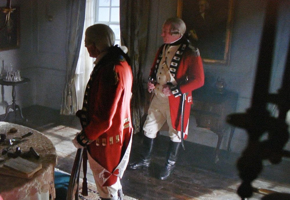 Richard Amott (right), British Officer, Season 4, Episode 9, TURN:Washington's Spies