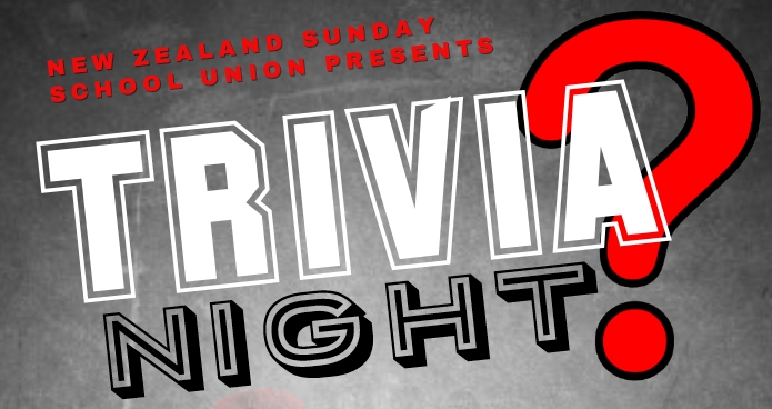 Trivia night is back for 2018! - Can your team outsmart the others?Friday 7th September, light refreshments provided, click here to register and for more info....