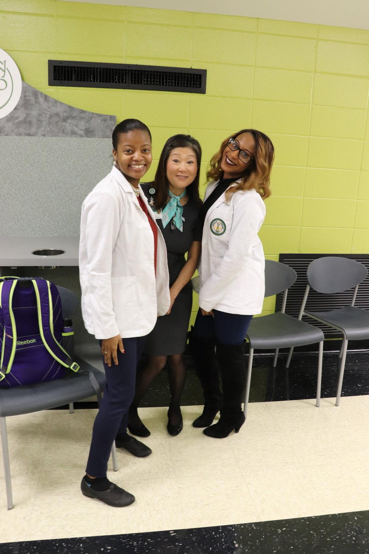 Nicole, Ms. Jenna, & Taylor