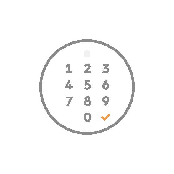 Privé - Nos espaces sont complètement privés. Partagez votre code PIN avec vos clients pour les laisser entrer.