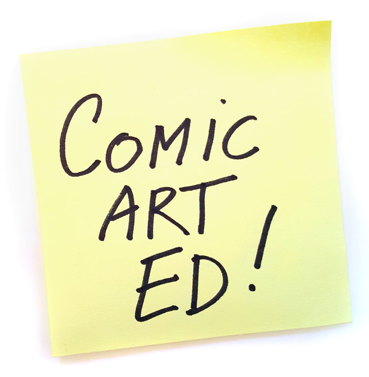 Comic Art Ed!