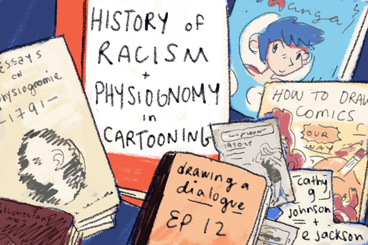 drawing a dialogue episode 12 history of racism physiognomy in