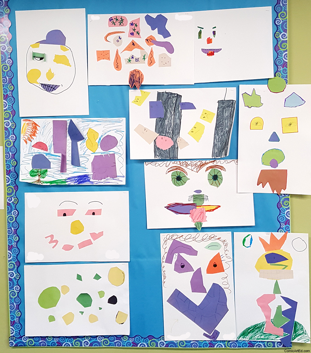 Feelings Faces by 4th graders.