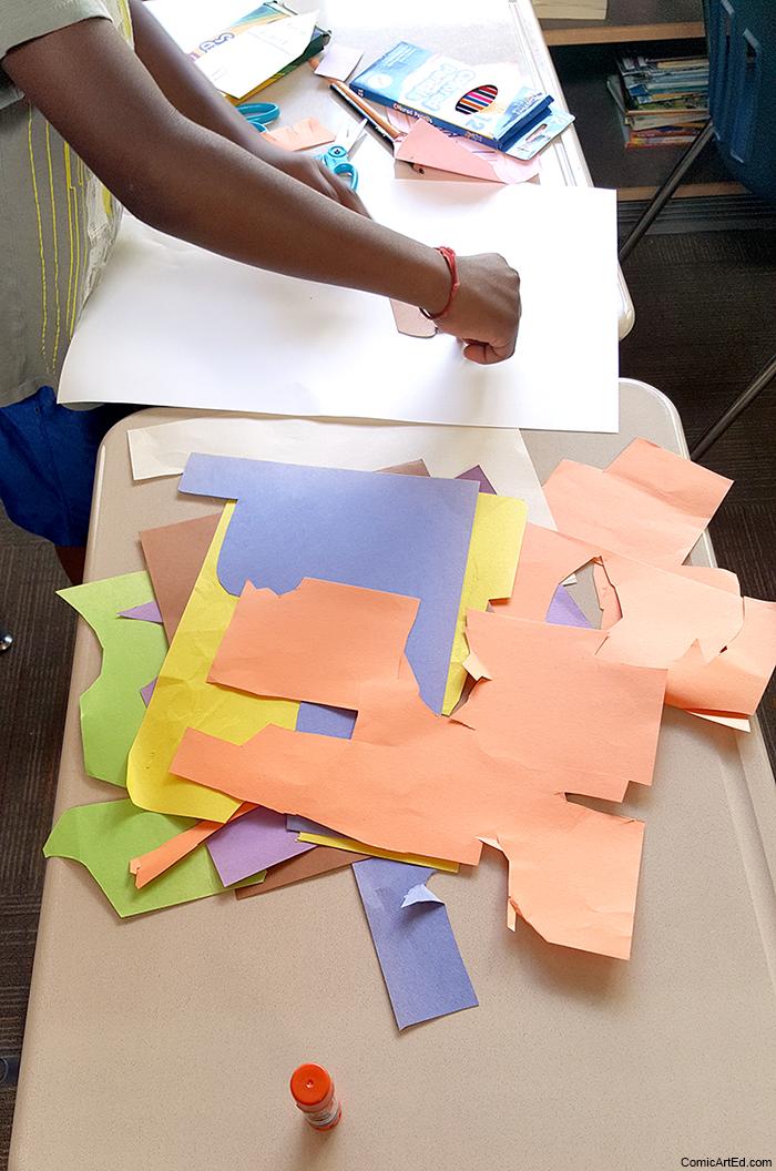 3rd graders hard at work!