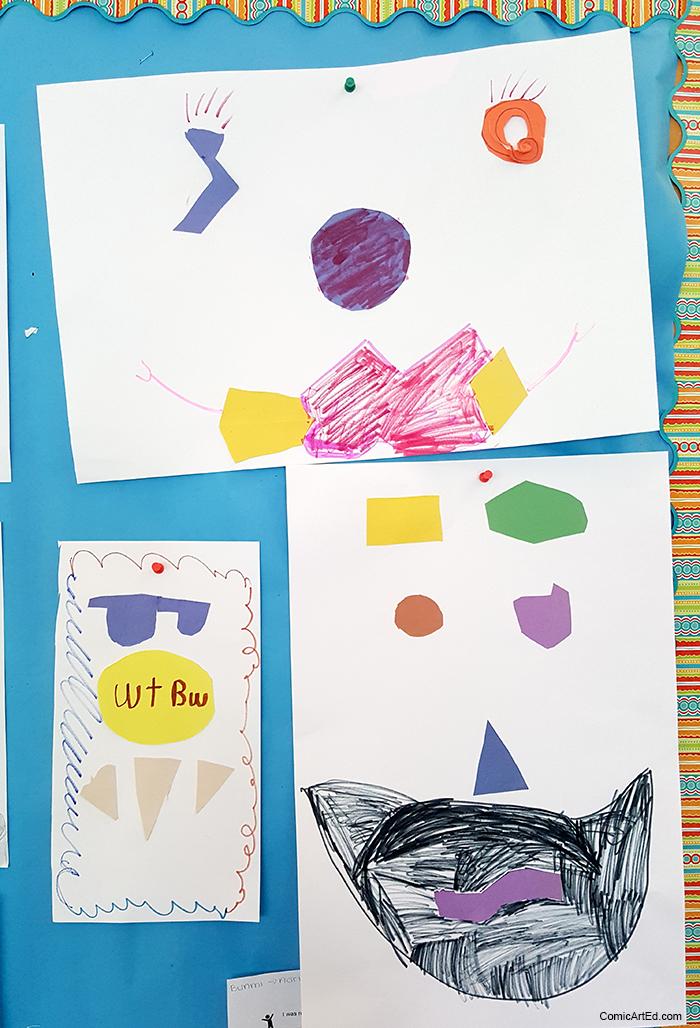 3rd graders' Feelings Faces!