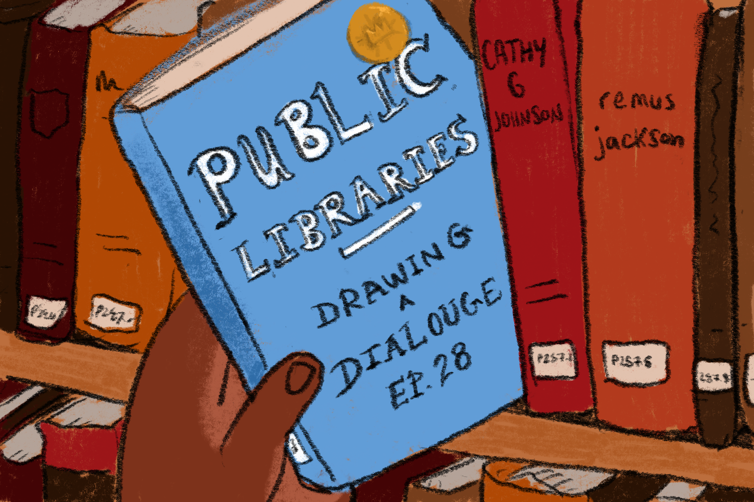 Drawing a Dialogue, Episode 28: Public Libraries