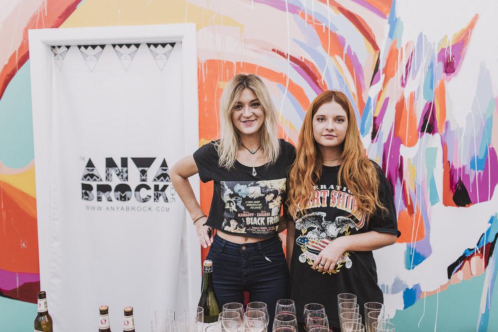 Anya Brock Opening Sydney 2014