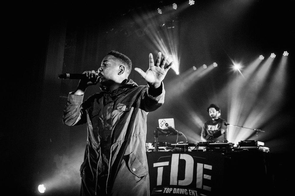 Kendrick Lamar Enmore Theatre, Sydney 2012