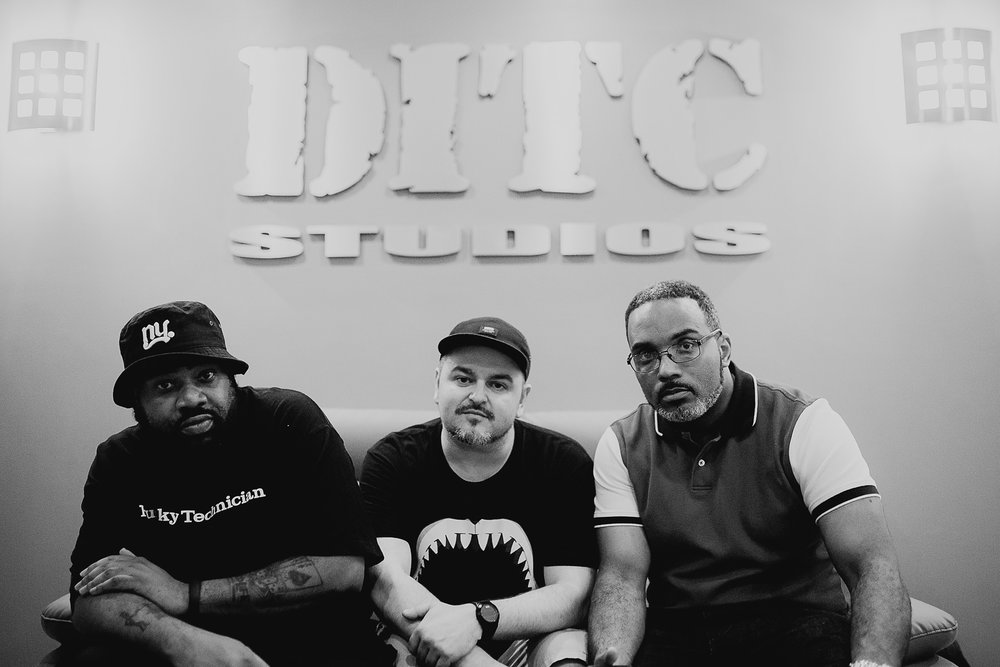 Lord Finesse + Delta + Large Professor DITC Studios NYC, 2015