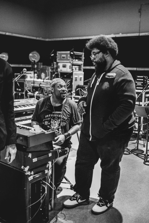 D'Angelo + Questlove Studio Rehearsals, NYC 2016