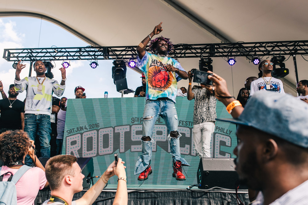 Lil Uzi Vert Roots Picnic, Philadelphia 2016