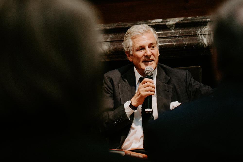 Alain Elkann Interviews Book Launch NYC 2017