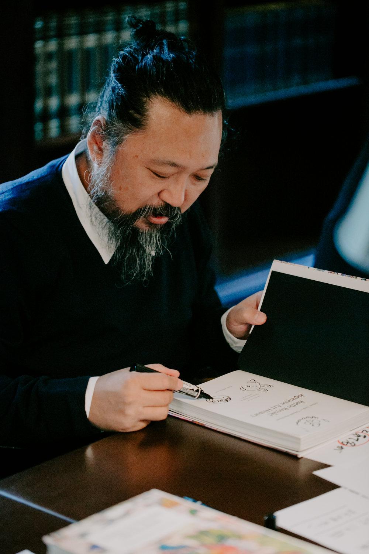 Battle Royale! Book Launch, Takashi Murakami and Nobuo Tsuj NYC 2017