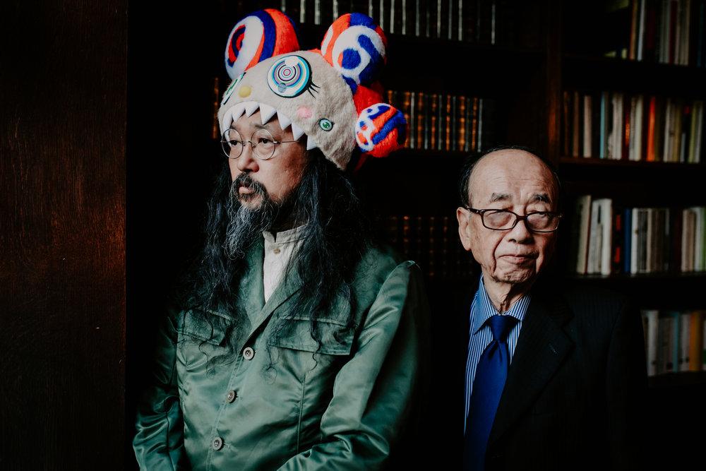 Takashi Murakami and Nobuo Tsuj NYC 2017