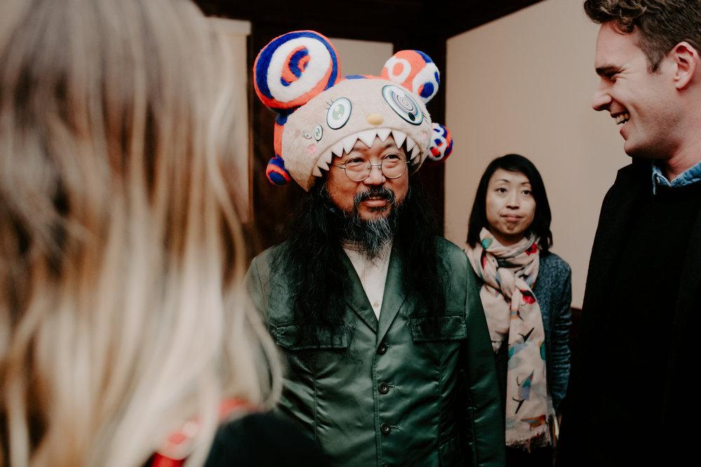 Takashi Murakami Battle Royale! Book Launch NYC 2017