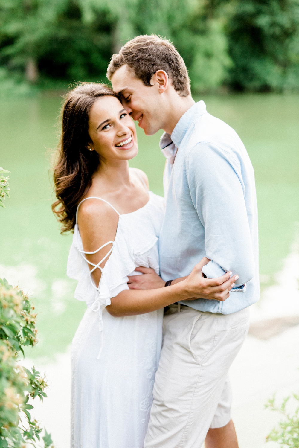 Preppy meets boho in this super fun and sweet Central Park engagement session in New York.