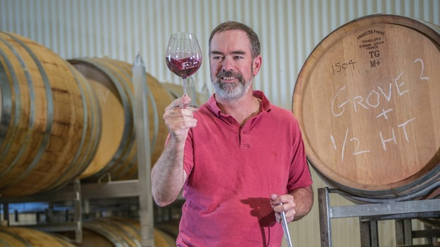 Canberra's second generation winemakers: Tim Kirk of Clonakilla wines. Photo: Karleen Minney