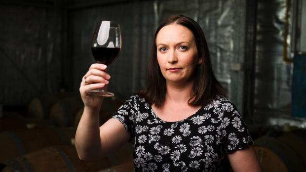 Stephanie Helm owner of The Vintner's Daughter winery. Photo: Dion Georgopoulos