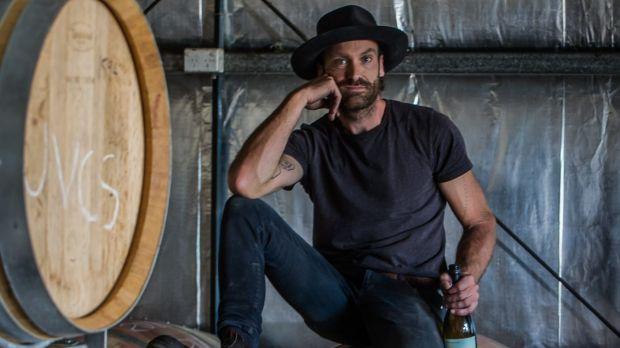 Canberra's second generation winemakers. Sam Leyshon of Mallaluka wines. Photo: Karleen Minney
