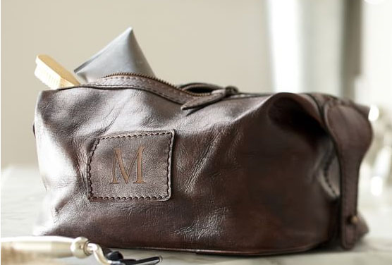 Pottery Barn - Saddle Leather Toiletry Case - $59
