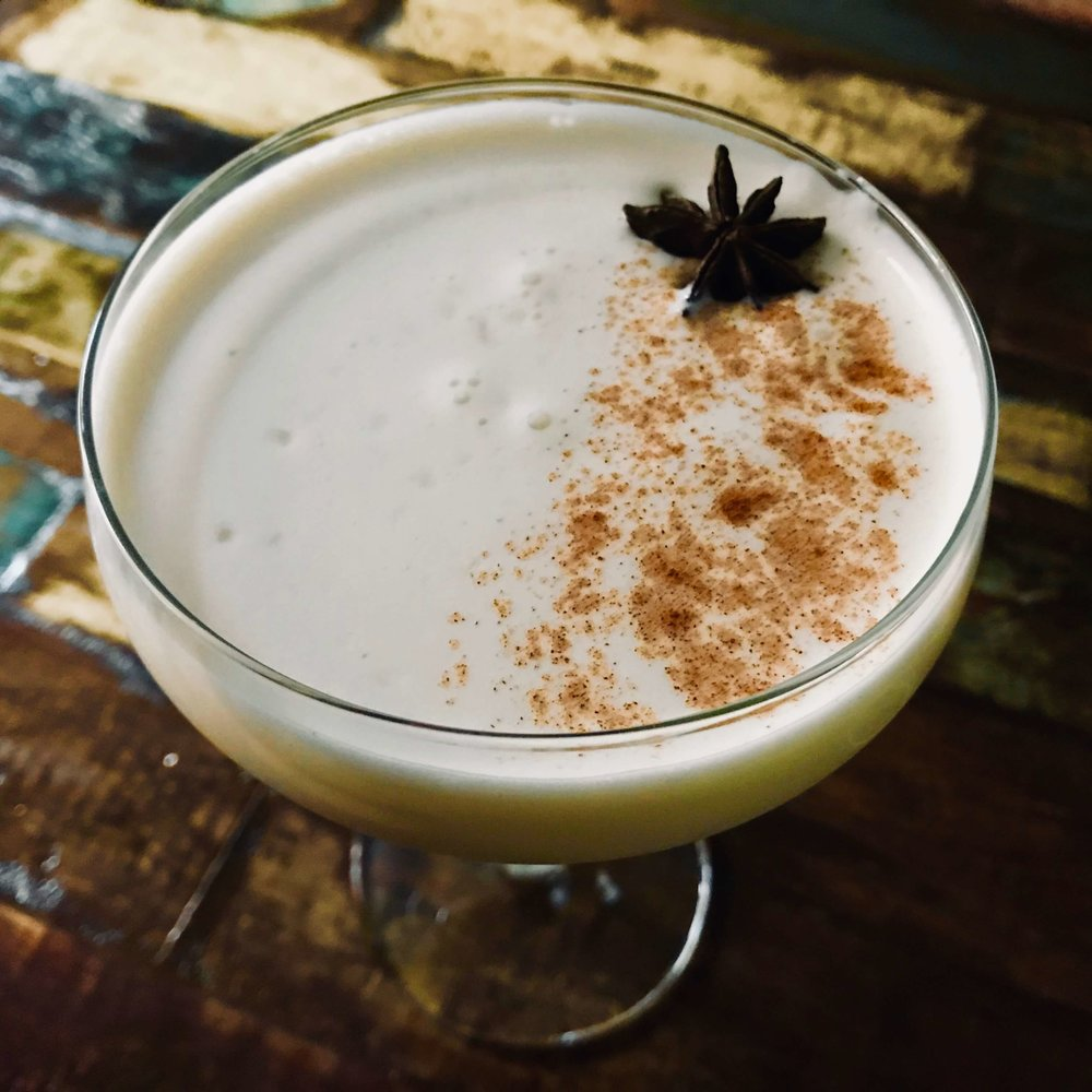 This twist on the traditional spiked eggnog uses Drambuie instead of rum or bourbon and is infused with flavors of anise and cinnamon.