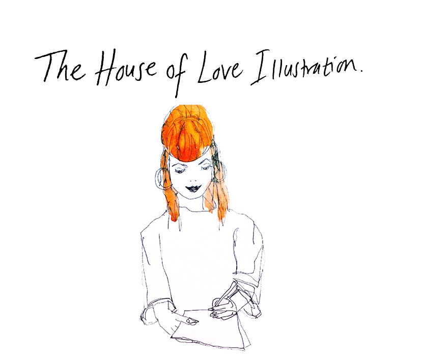 The House of Love Illustration