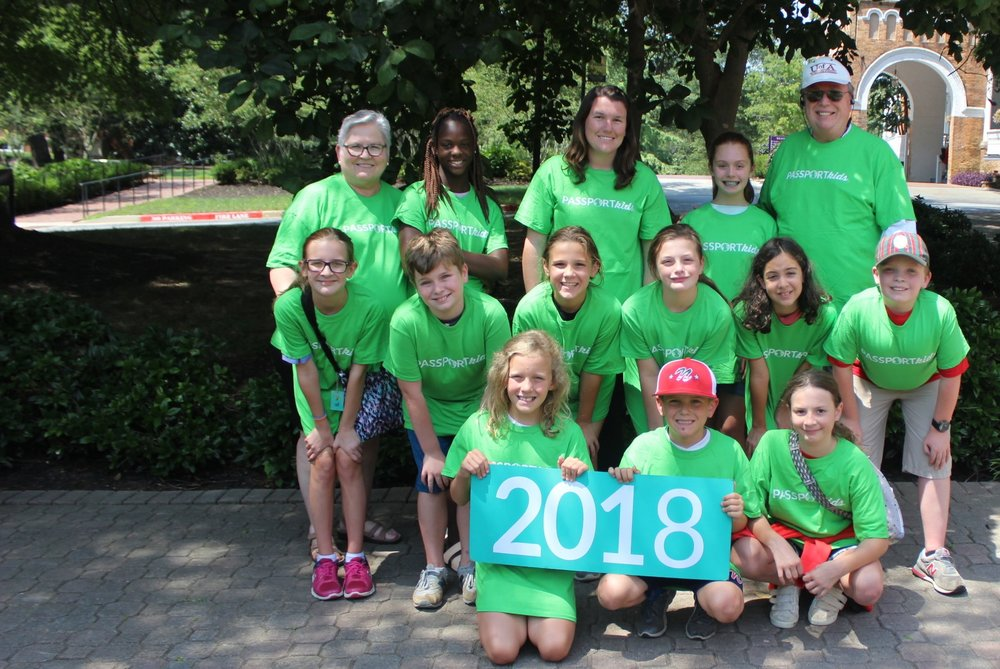Passport Kids camp July 25-29, 2019 - Passport Kids Camp is a mission driven time away for grades 3-5. We have attended camps in Crossville, Tennessee and Spartanburg, South Carolina. Children are supervised at all times by chaperones.