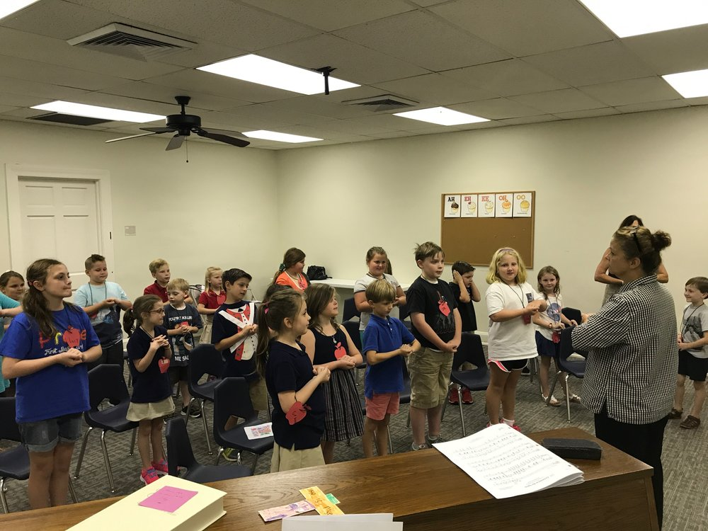 Children's Choir - Wednesdays, 6:00-6:45 pm, Grades 1-5