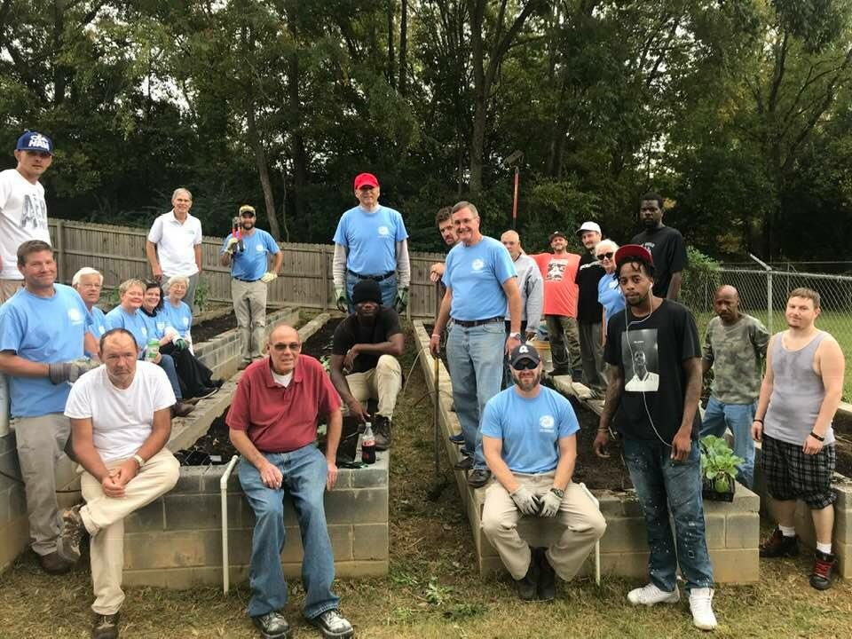 At the Safe House on Day of Service 2018