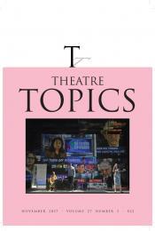 Article in Theatre Topics