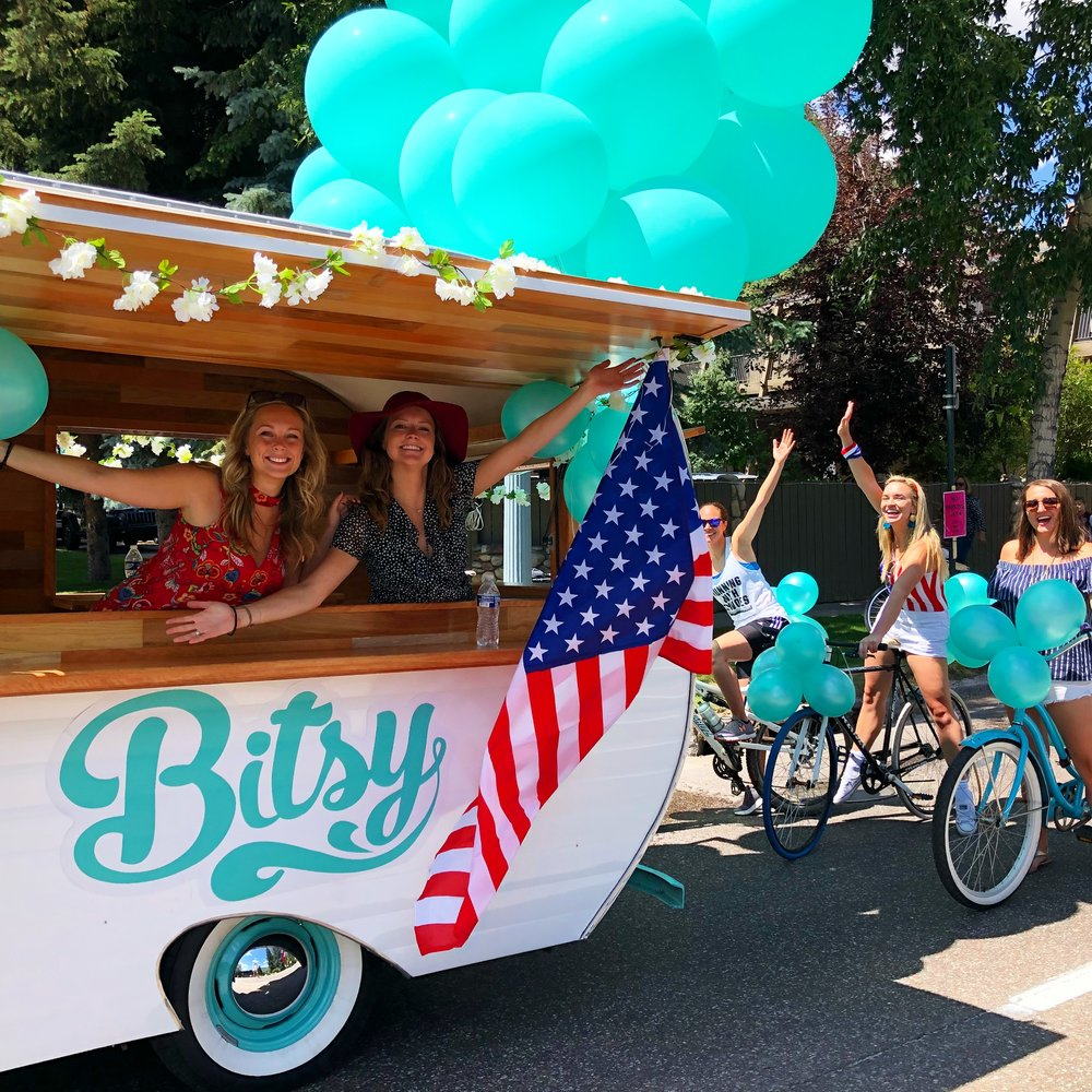 FOURTH OF JULY - BITSY BOOTH & PARADE FLOAT
