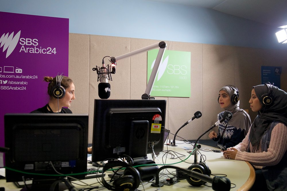 SBS Arabic24 العربية الإذاعية SBS محطة