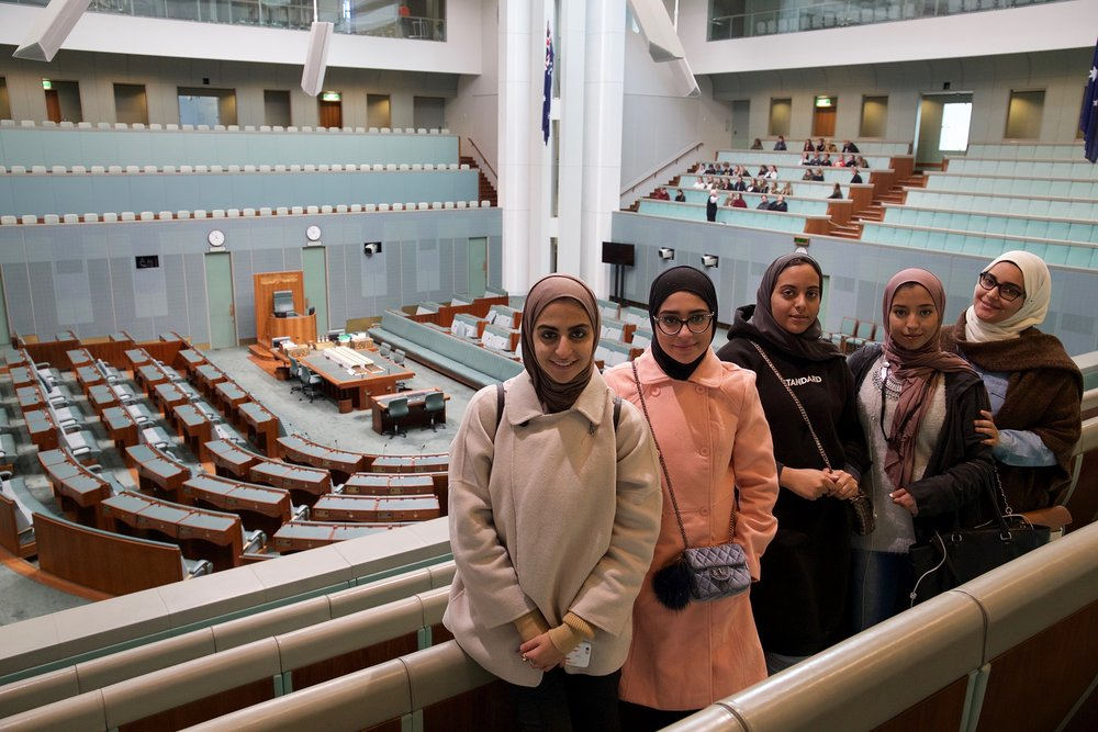 Australian Parliament House, Canberra مجلس البرلمان الأسترالي، كانبرا