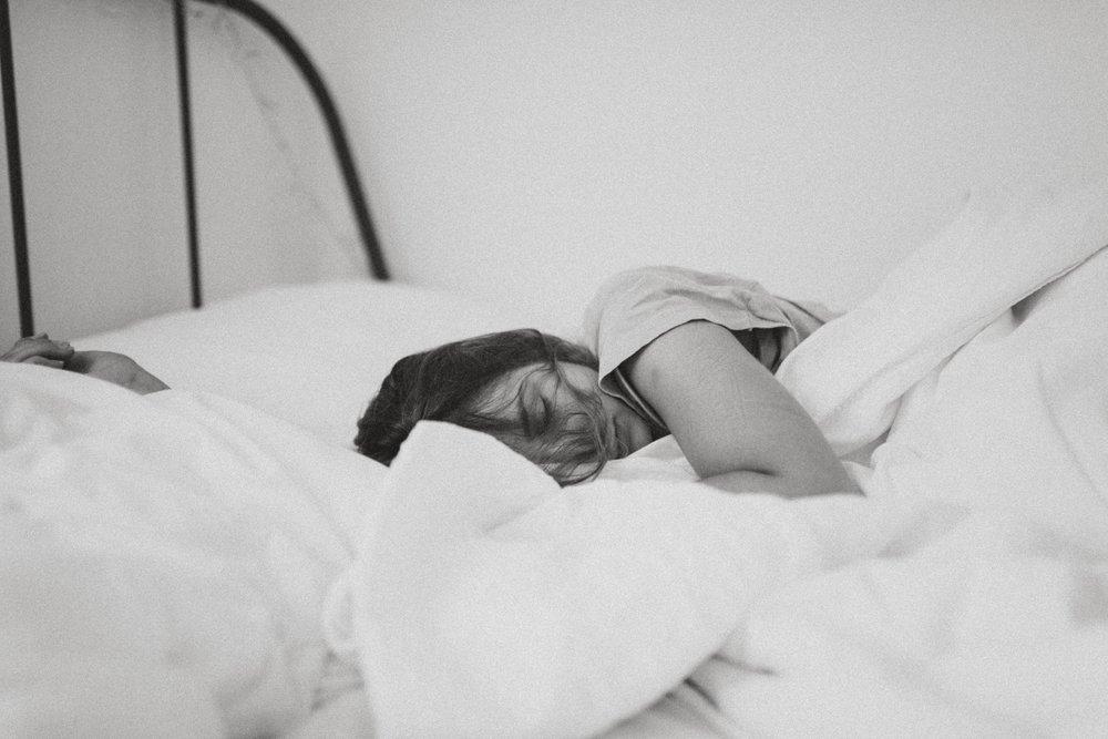 ①睡眠時間を長くする -