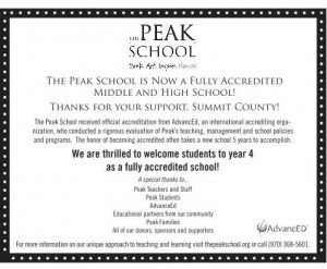 Accreditation Ad