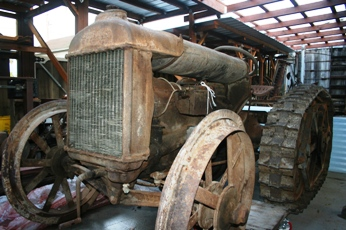 Fordson F Tractor. Photo courtesy of Will Kaku.