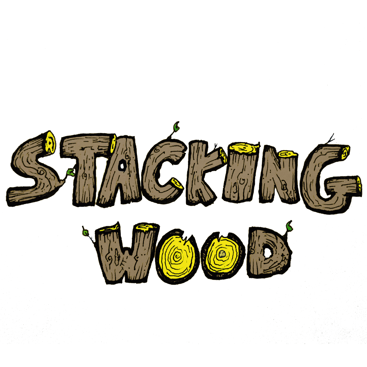 Stacking Wood with Josh and Travis Wyman