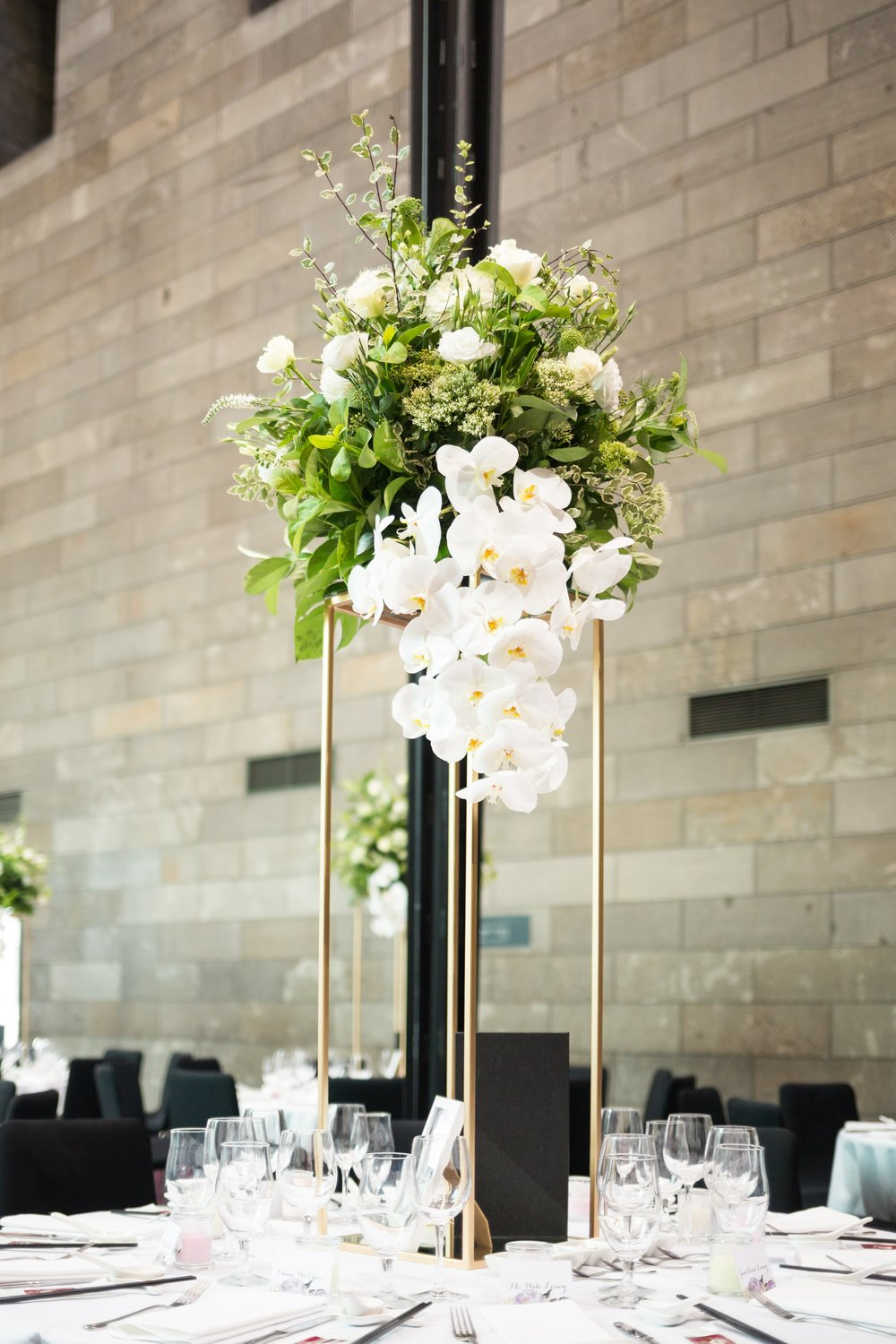 weddingideas, flowerstands, wedding, tablecentrepieces, bridetobe, bride, beautifulweddingmelbourne, weddinghiremelbourne, melbourne, nationalgalleryofvictoria, goldwedding.jpg