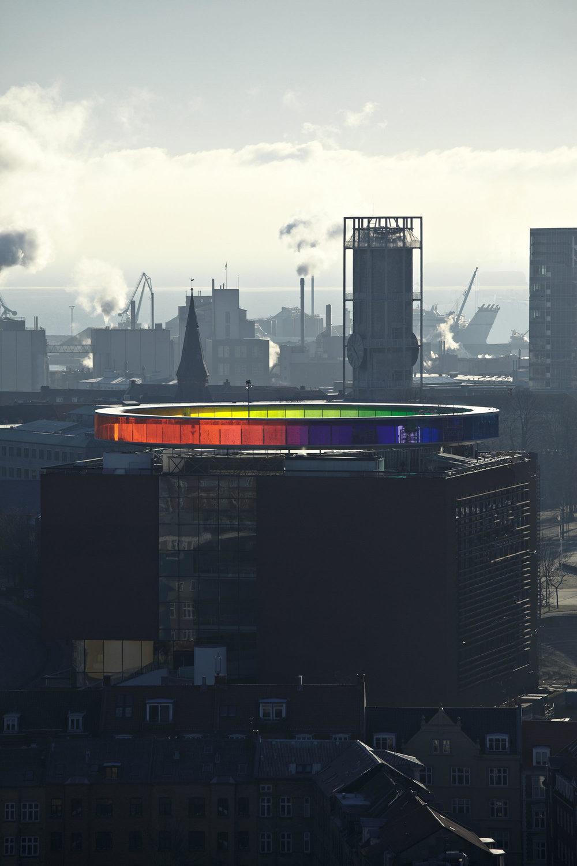 Your Rainbow Panorama, Olafur Eliasson, Aarhus