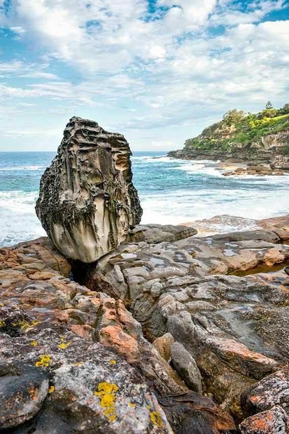 Stone Object in Landscape