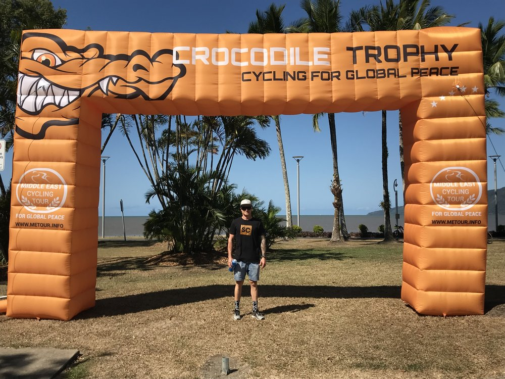 Luke Zweers at the 2018 Crocodile Trophy in Cairns