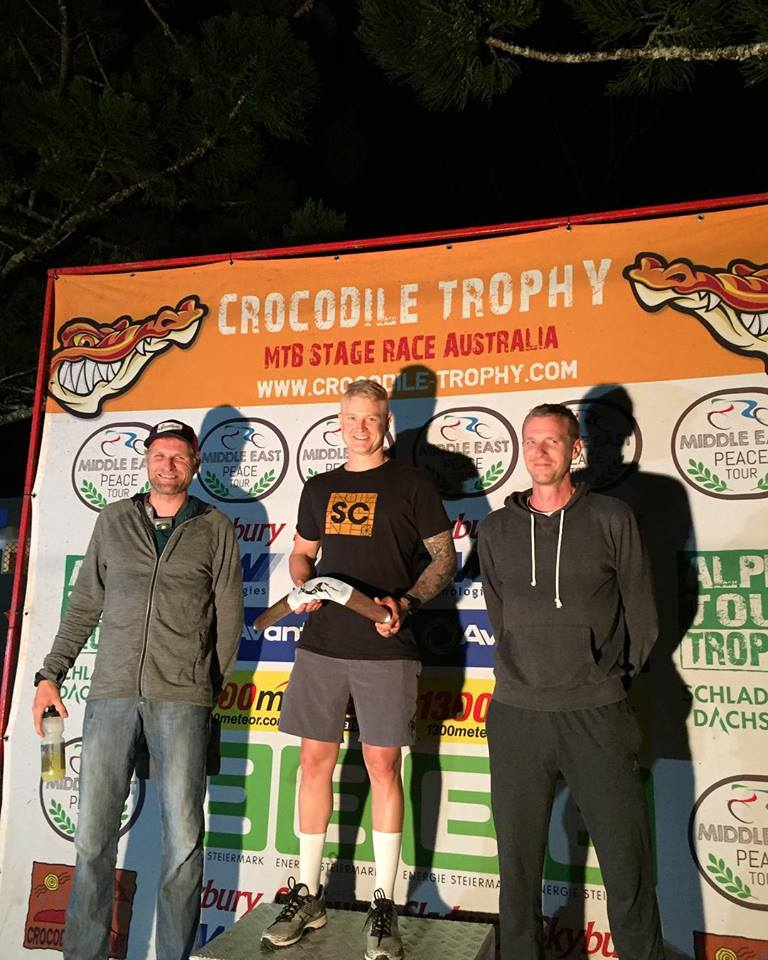 "Luke Zweers win MA2 at the 2018 Crocodile Trophy. Photo"": R. Stanger"