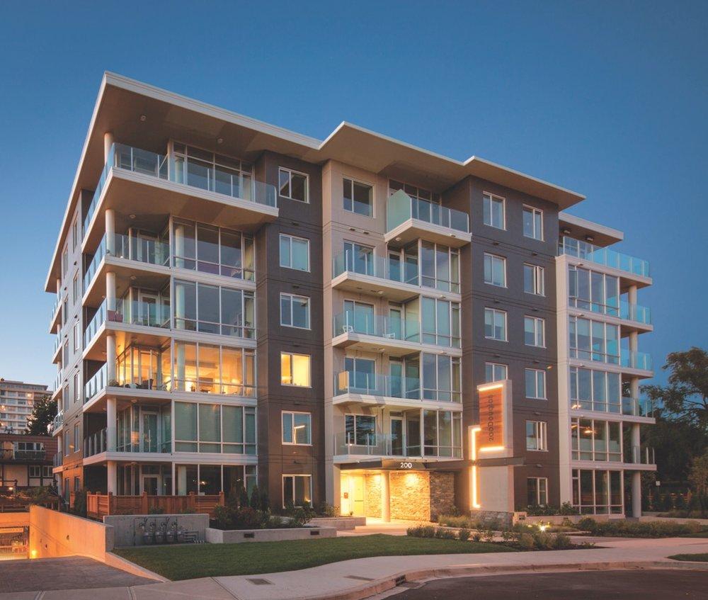 200 Douglas  Residences Victoria, BC 2014