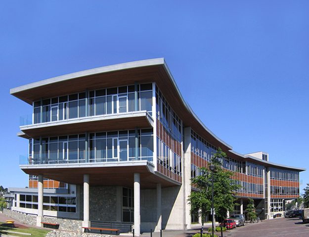 Sawmill Point  Mixed Commercial Building Victoria, BC 2000