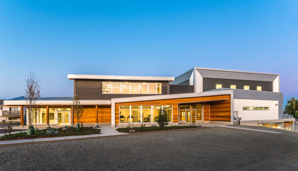 Snuneymuxw First Nation Centre  Multi-Use Building Nanaimo, BC 2015