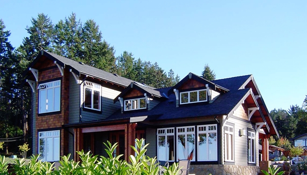 Ocean Park Place Residence   Cordova Bay, BC 2004